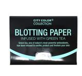 City Color Blotting Paper Green Tea