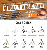 J.Cat Dark Brown Wholly Addiction Pro Define Eye Liner