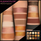 Kleancolor Exposed Pro Nude Eye Shadow Palette