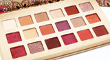 Malibu Glitz Desert Dusk 18 Color Eye Shadow Palette