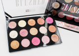 Malibu Glitz Blushed 15 Color Face Palette