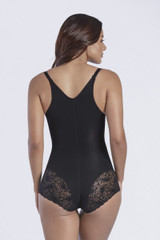 THERMAL HIPHUGGER LACE TRIM BODYSUIT