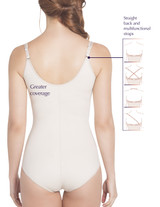 Slimming Braless Classic Panty Body Shaper with Latex