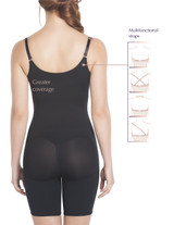 Slimming Braless Mid-Thigh Body Shaper