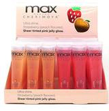 High Shine Fruits Lip Gloss Sheer Tinted 6 PCS