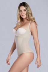 OPEN BUST THERMAL BODYSUIT PANTY