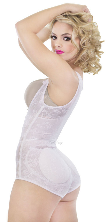 Lace Braless Padded Shaper