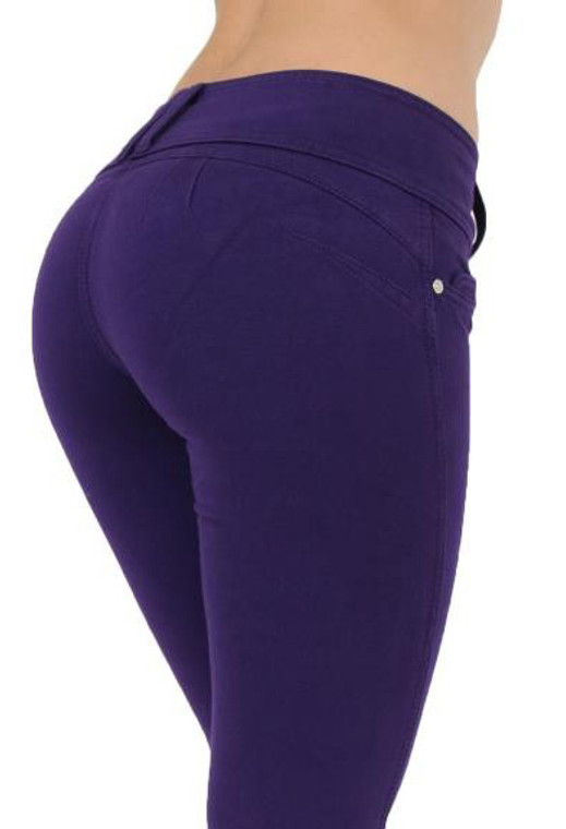 Butt Lift Pant 1119 Purple Acai