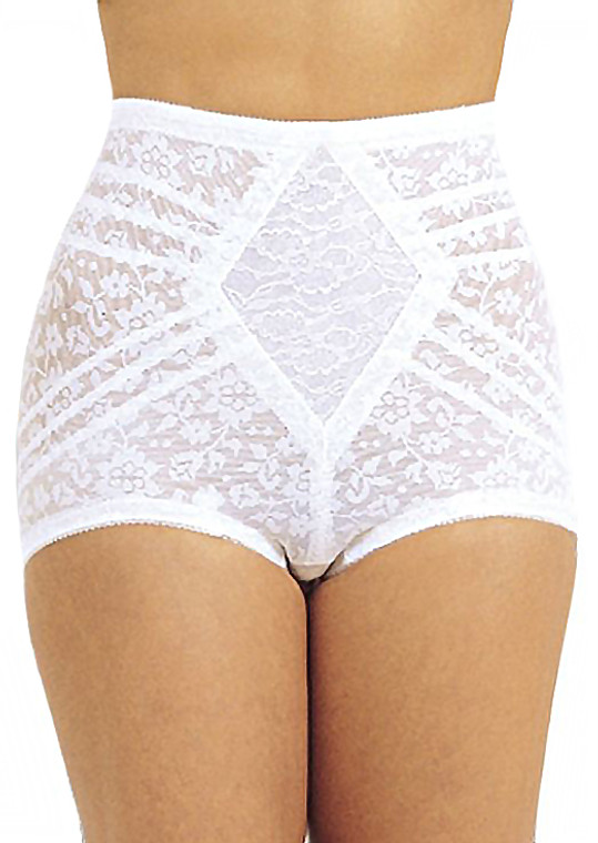 Extra Firm Shaping Panty Brief With Garters