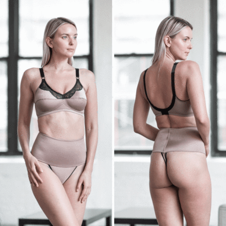 Soft Shaping Wide Band Thong