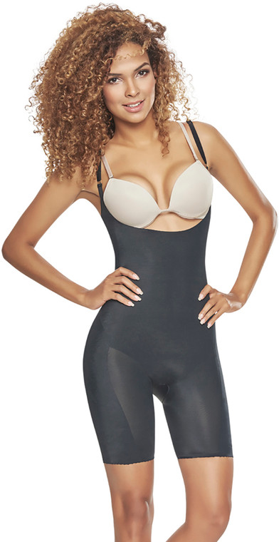 INVISIBLE OPEN BUST BODYSUIT