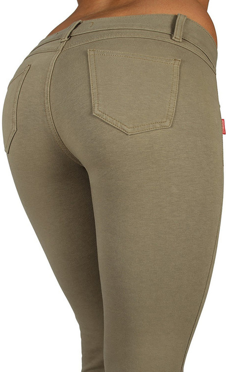 Butt Lift Pant 1118 Aloe