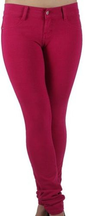 Butt Lift Pant 1118 Fuchsia Red
