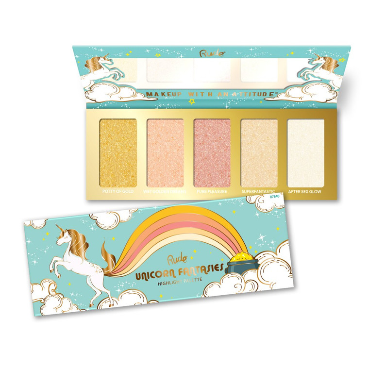 Unicorn Fantasies - 5 Shade Highlight Palette