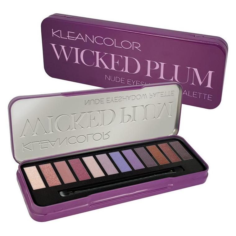 Kleancolor Wicked Plum Eyeshadow Palette