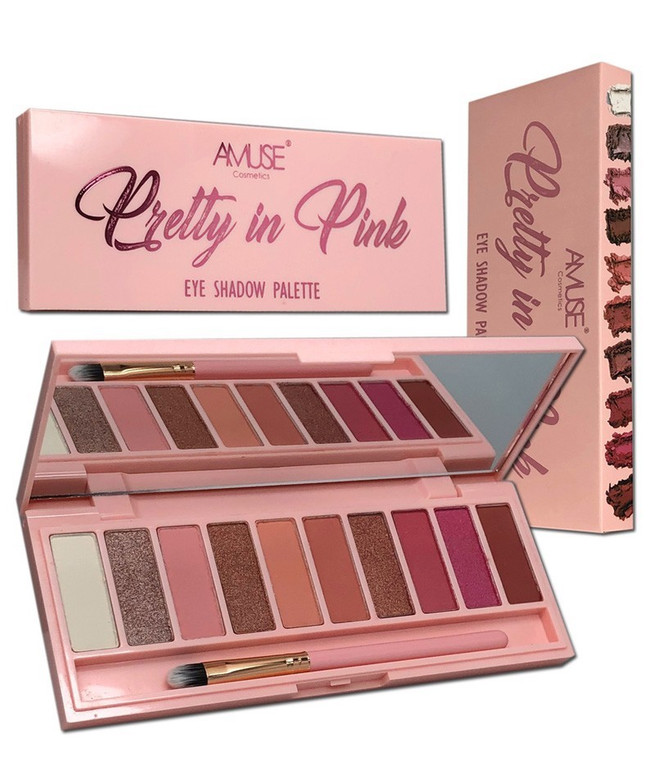Amuse Pretty in Pink Eyeshadow Palette
