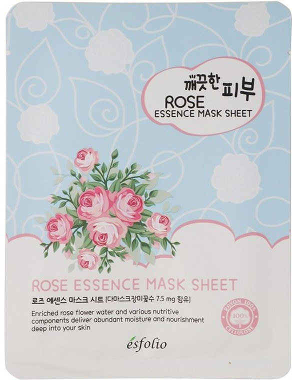 Esfolio Rose Essence Mask Sheet Pack of 10