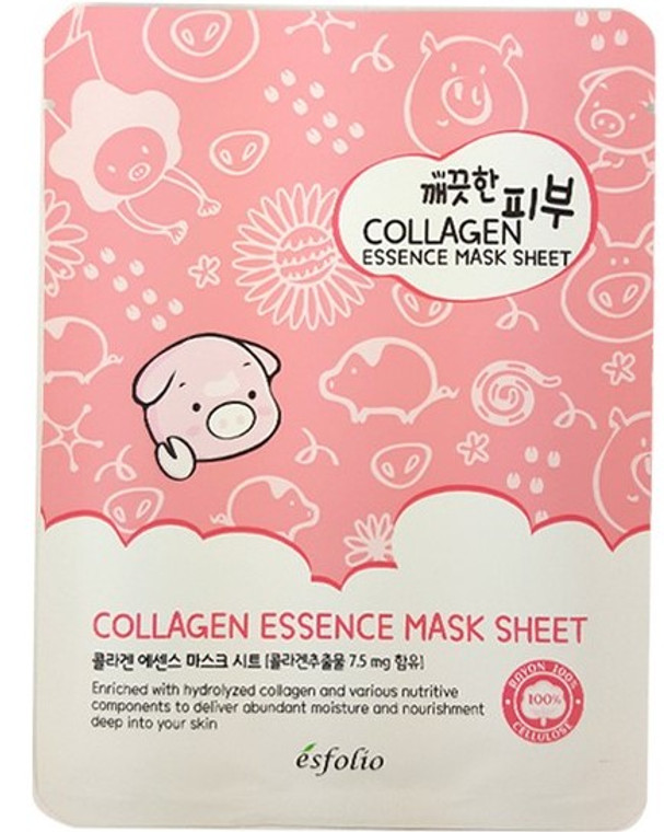 Esfolio Collagen Essence Mask Sheet Pack of 10