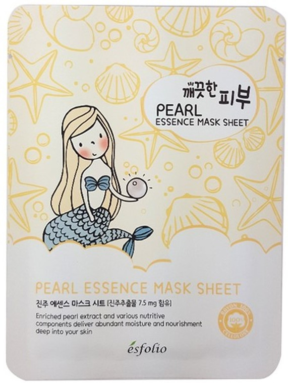 Esfolio Pearl Essence Mask Sheet Pack of 10