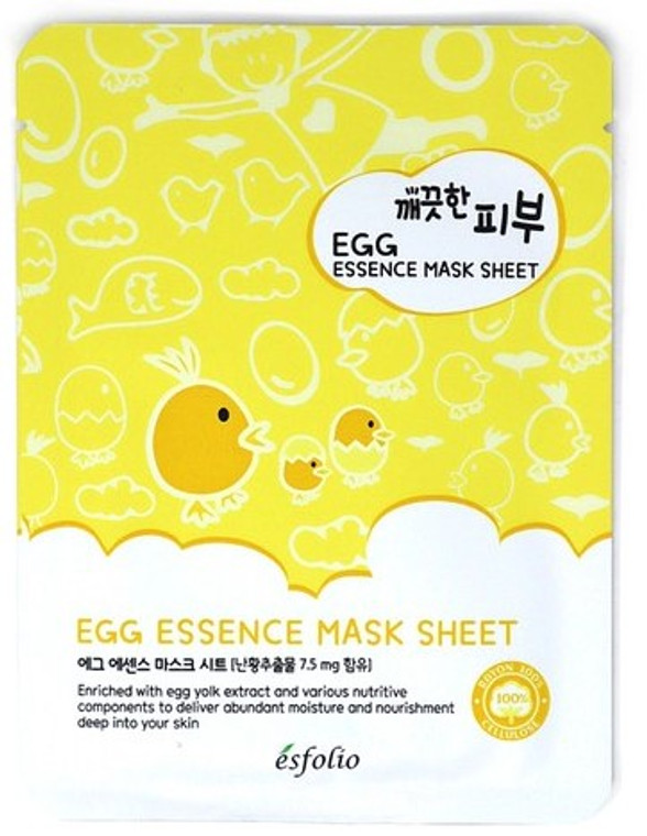 Esfolio Egg Essence Mask Sheet Pack of 10