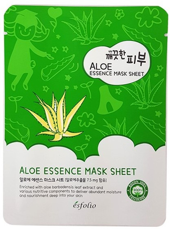 Esfolio Aloe Essence Mask Sheet Pack of 10