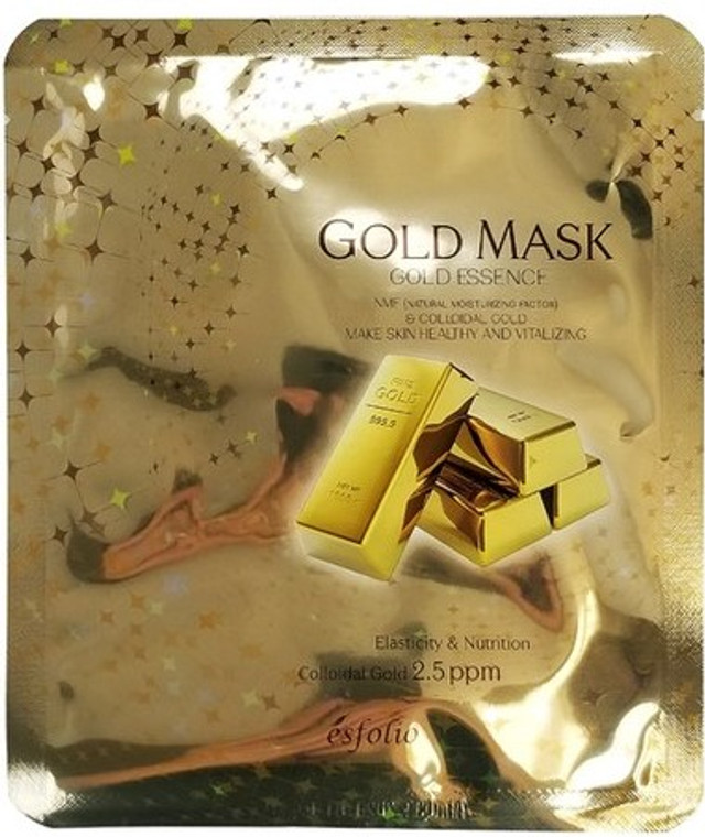 Esfolio Gold Essence Mask Sheet Pack of 10