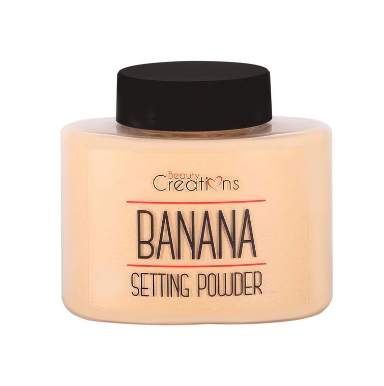 Beauty Creations Banana Setting Power 2 Count