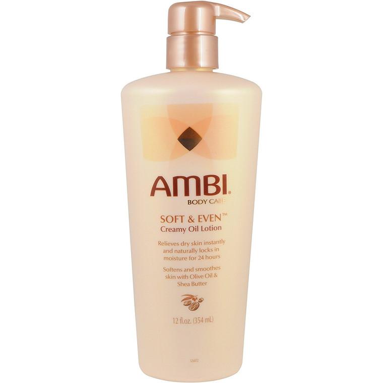 AMBI® Soft & Even® Creamy Oil Lotion 12oz
