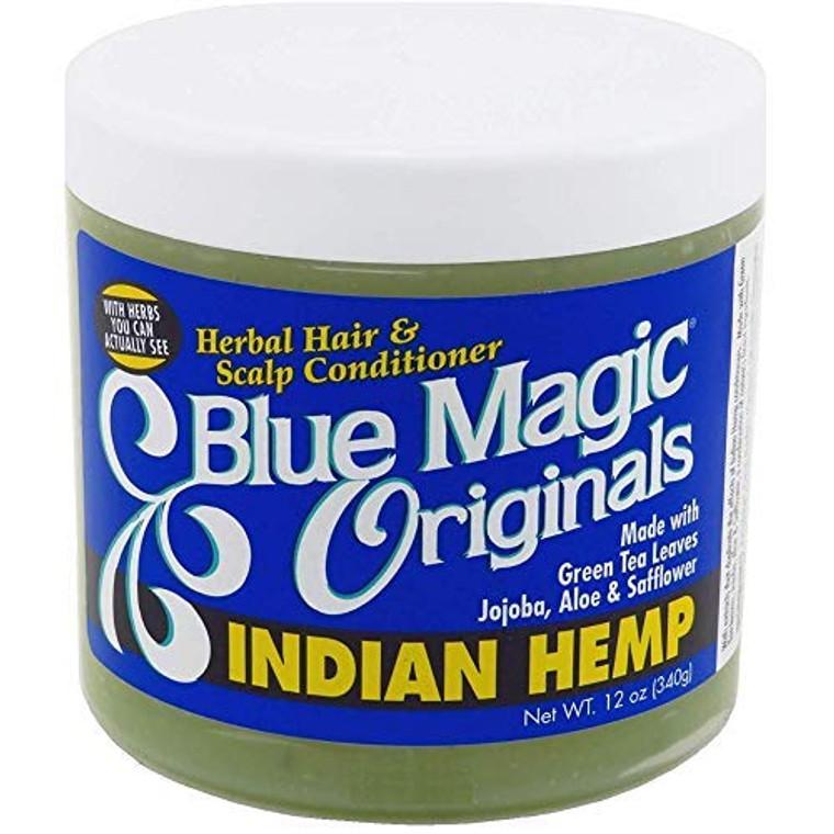 Blue Magic Indian Hemp Conditioner 12 Ounces