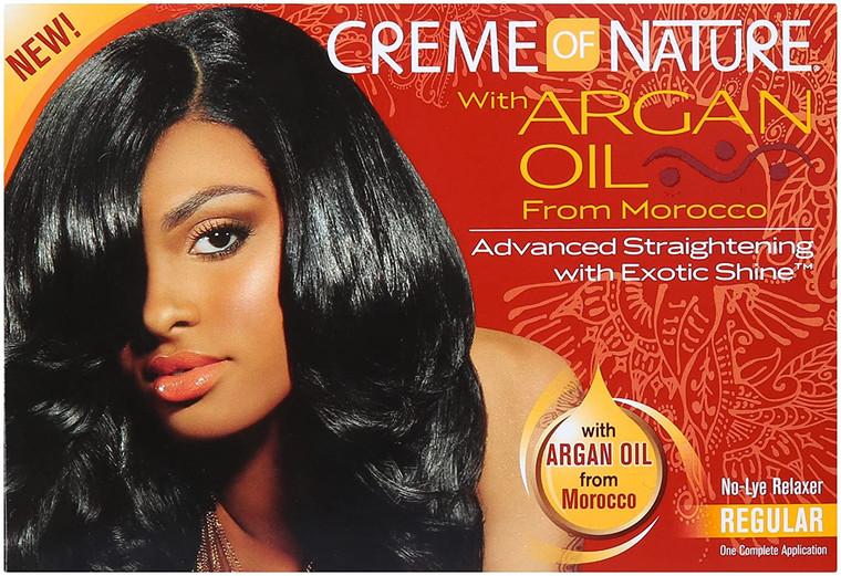 Creme of Nature Argan Oil Relaxer Formula Regular