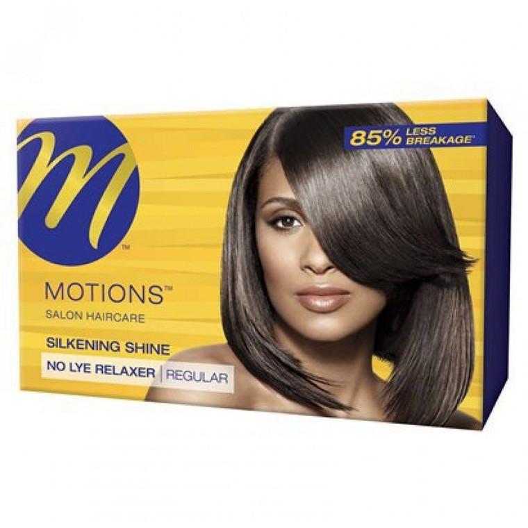 Motions Silkening Shine No lye Relaxer Kit
