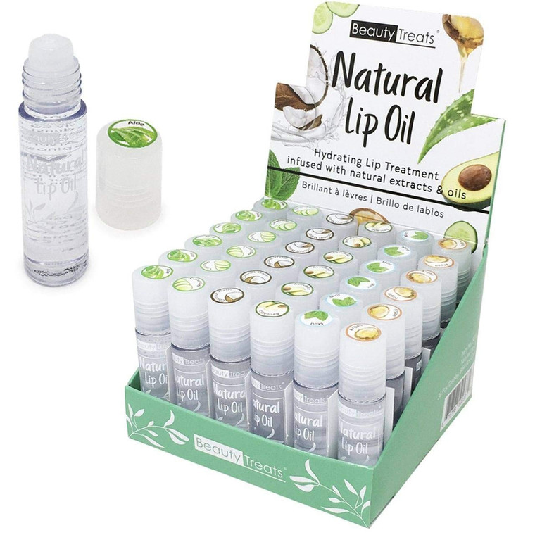 Natural Lip Oil Treatment 6 Piece Set