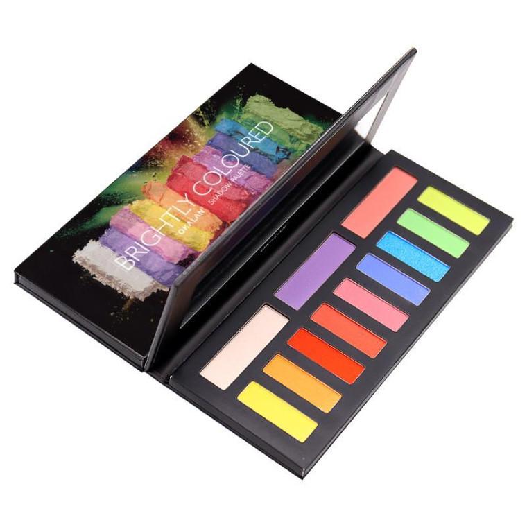 OKALAN Brightly Coloured Shadow Palette