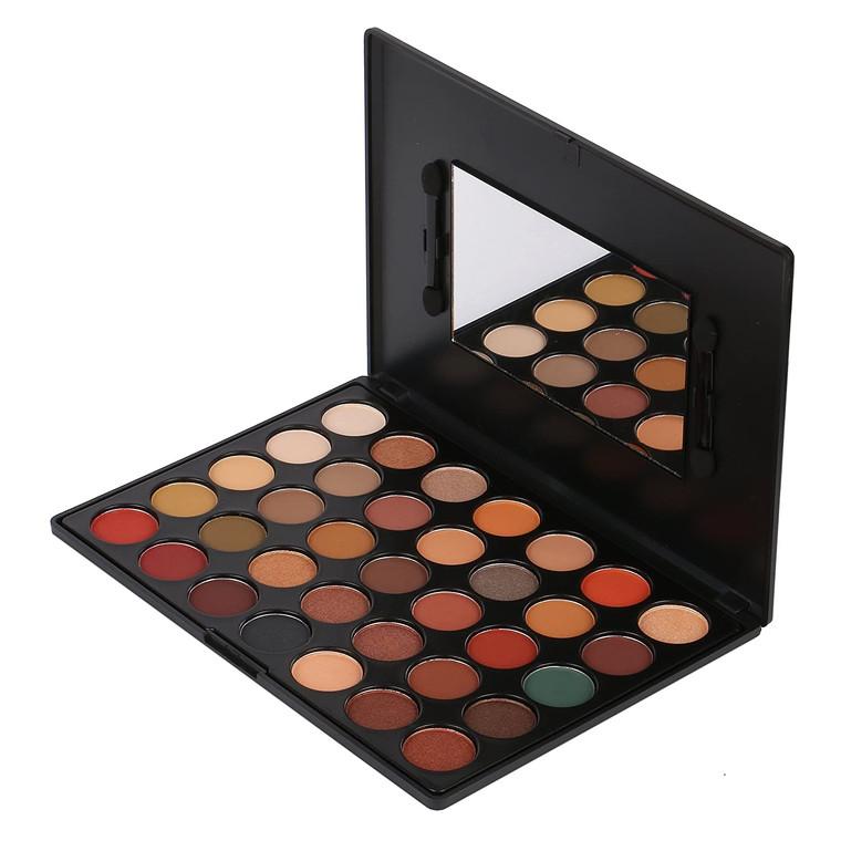 Romantic Beauty Pro 35 Colors Eyeshadow Palette