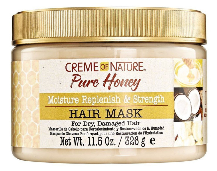 Creme Of Nature Pure Honey Hair Mask 11.5 Ounce Jar