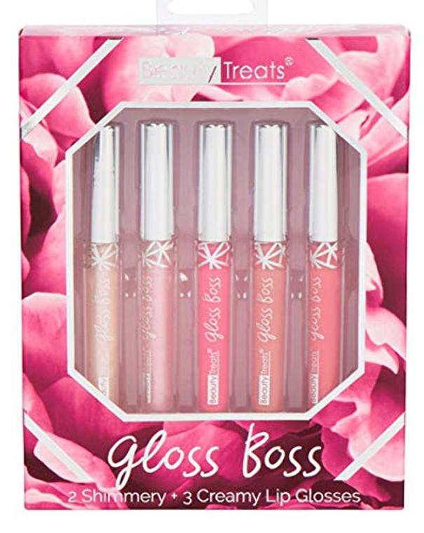 Beauty Treats Gloss Boss 5 Piece Set