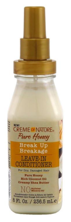 Creme Of Nature Pure Honey Leave-In Conditioner 8 Oz