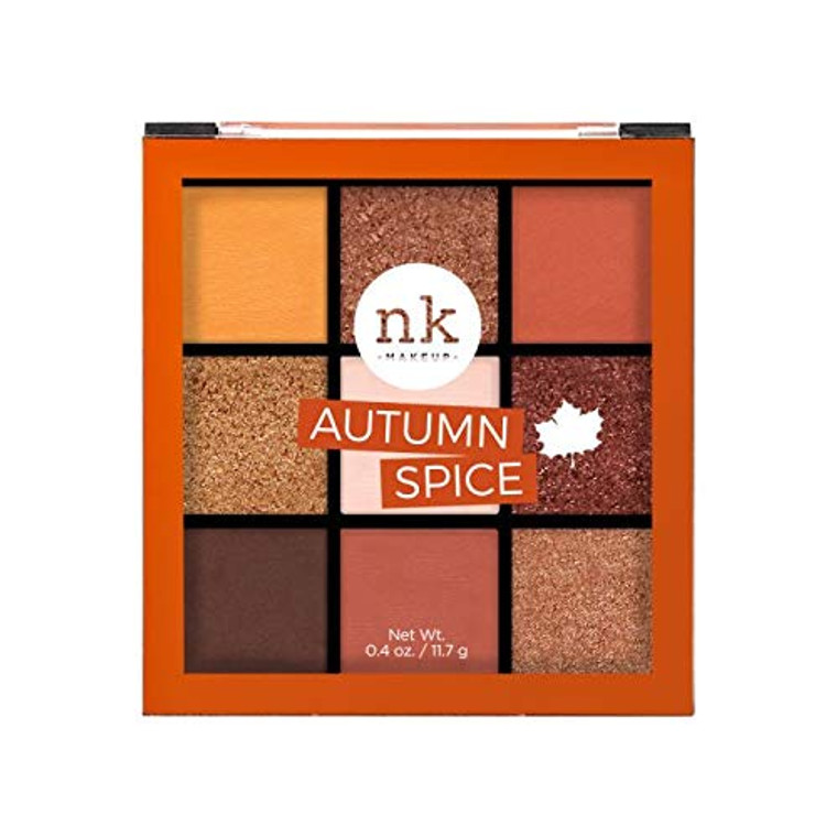 Nicka K 9 Color Autumn Spice Eye Shadow Palette