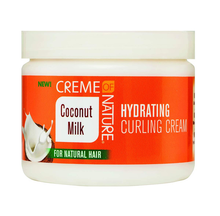 Creme Of Nature Coconut Milk Hydrating Curling Cream 11.5 Ounce