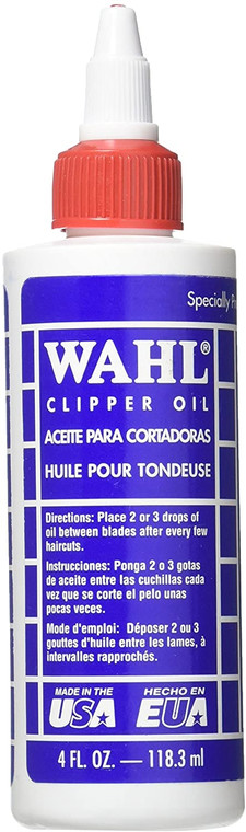 Wahl Pro-wahl Clipper Oil For Hair Trimmers And Clippers - 118.3ml