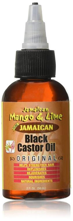 Jamaican Mango & Lime Jamaican Black Castor Oil 2 oz
