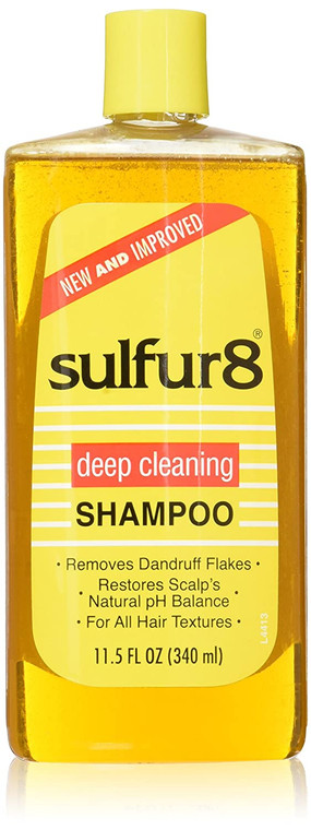Sulfur 8 Medicated Shampoo, 11.5 Ounce