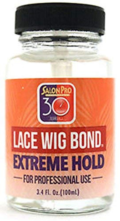 Salon Pro 30 Sec Lace Wig Bond Extreme Hold 1oz | 3.4oz