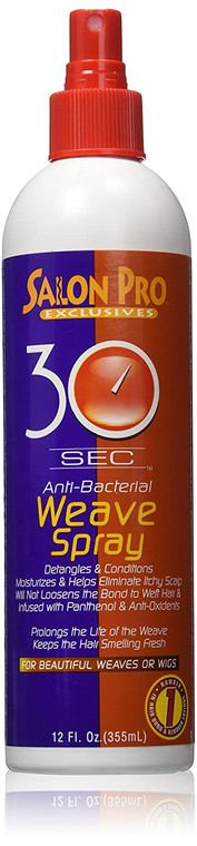 Salon Pro 30 Second Weave Spray 12 oz