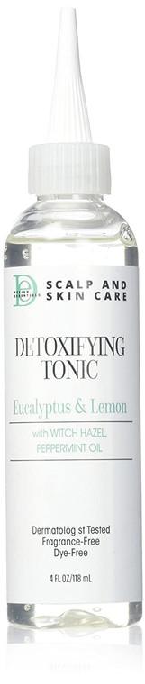 Design Essentials Scalp & Skin Care Detoxifying Tonic, Eucalyptus Lemon 4 Fl Oz