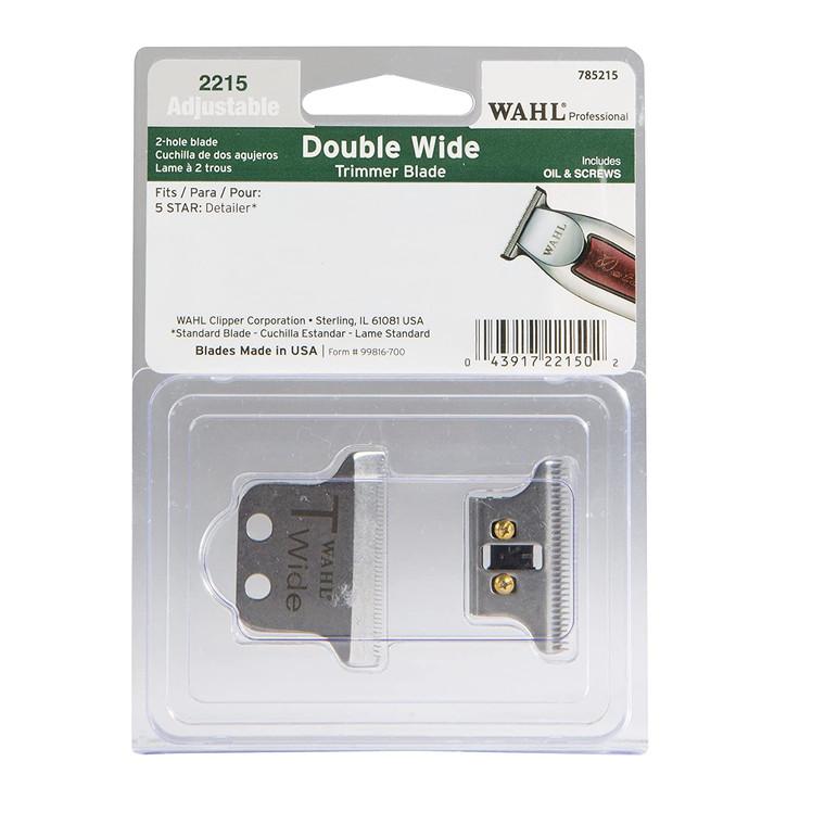 Wahl Professional #2215 T-Wide Adjustable Trimmer Blade set