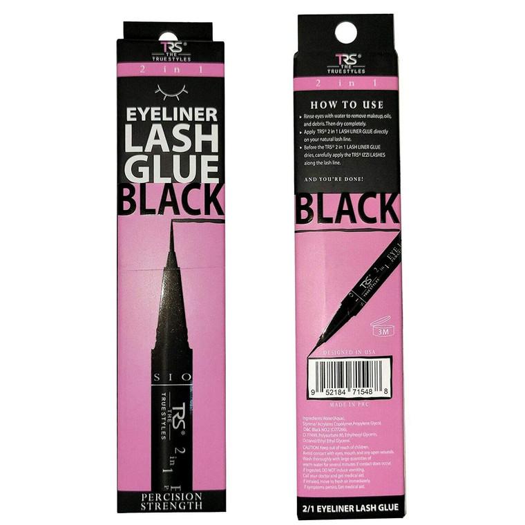 2 in 1 Black Eyeliner and Lash Glue