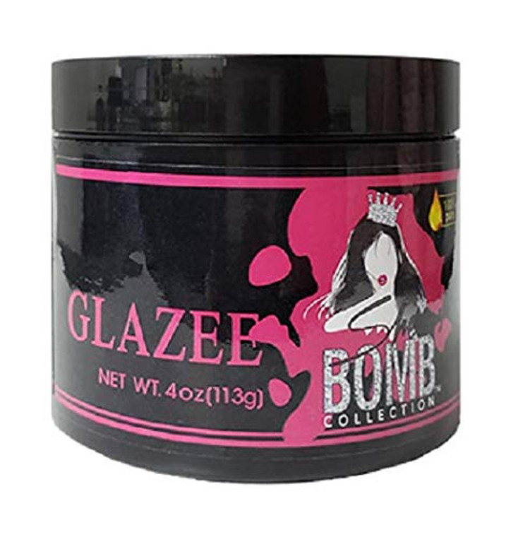 She Is Bomb Collection Glazee 4oz For Edges, Braids, and Twist Outs