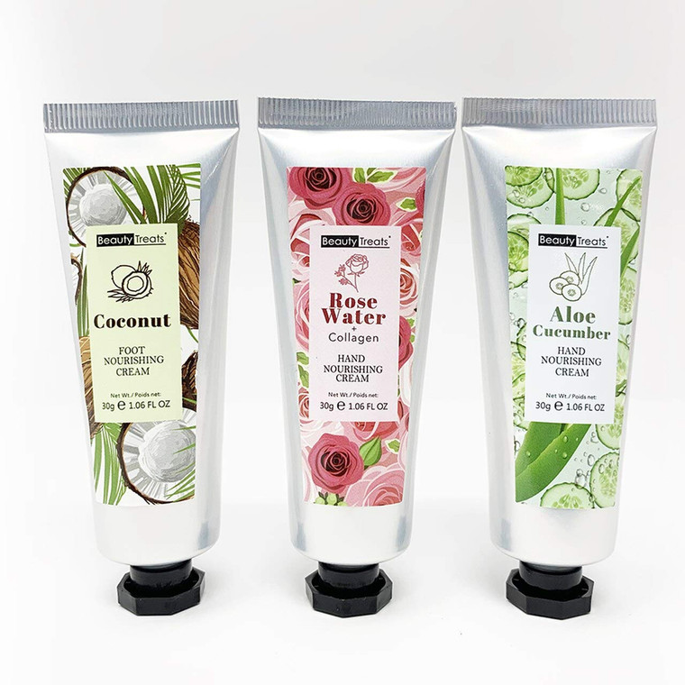Mani & Pedi Hand and Foot Cream Trio