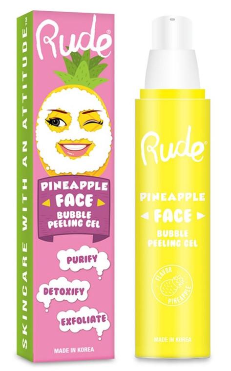 Pineapple Face Bubble Peeling Gel